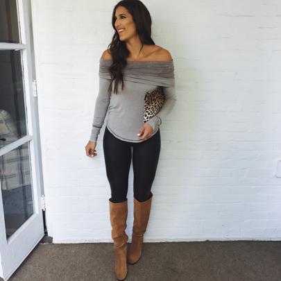 I always love a good OTS top! ❤️ // Shop my outfit details via  @liketoknow.it 👉🏽 http://liketk.it/2prRb #liketkit
