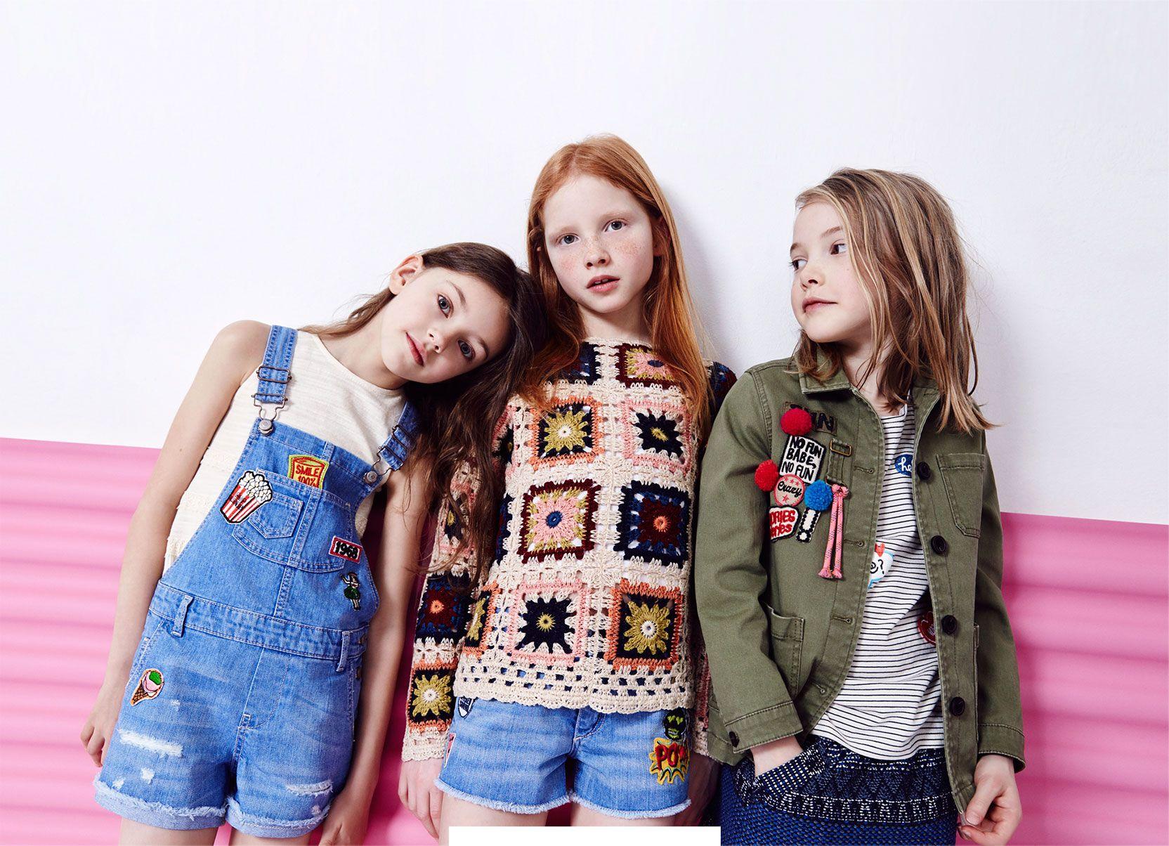 dfba97560 ZARA - #zaraeditorials - GIRLS / THE SPRING REPORT | KIDS | Kids ...