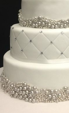 Photos Of Wedding Cake With Diamante