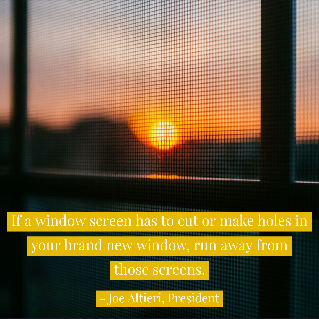 Window Screens That Require You To Put Holes In Your Brand New Windows Stay Away From Them Flexscreen Enjoythevie Flexscreen Flex Screen Flexible Screen