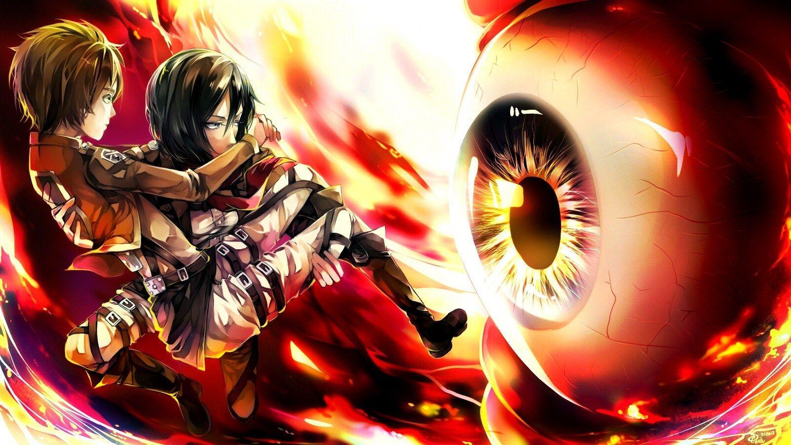 1600x900 Px Attack On Titan Image 1080p High Quality By Raleigh Longman Heros Attaque Des Titans Type De Manga