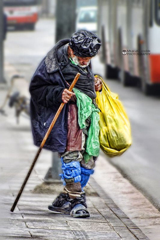 Homeless By Murat Photography 500px Black And White Portraits Black And White City Black And White Photography
