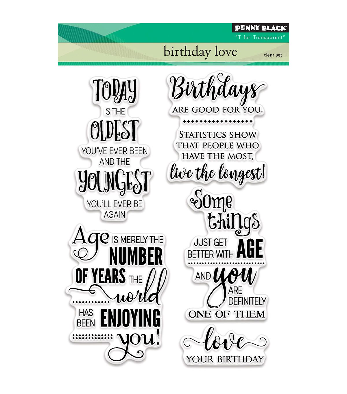 FISKARS Clear Stamps SCRIPT FONT Huge 8x8 Set 1O1 PIECE