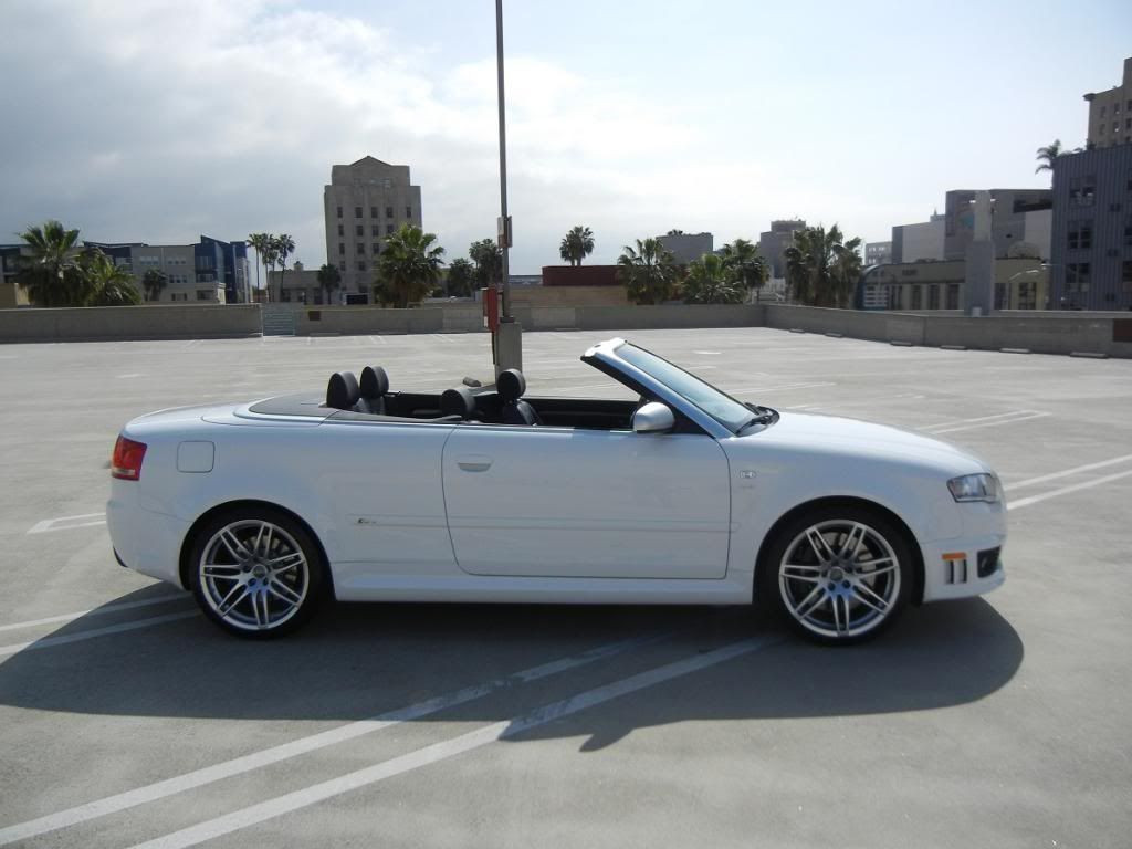 Vwvortex com 2008 audi rs4 convertible ibis white black super