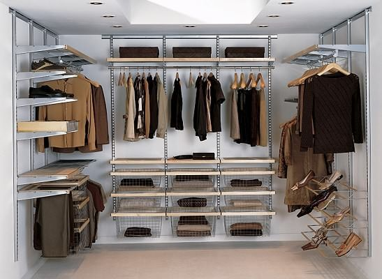 Begehbarer kleiderschrank selber bauen im schlafzimmer  BEGEHBARER KLEIDERSCHRANK SYSTEM deko selber machen -begehbarer ...