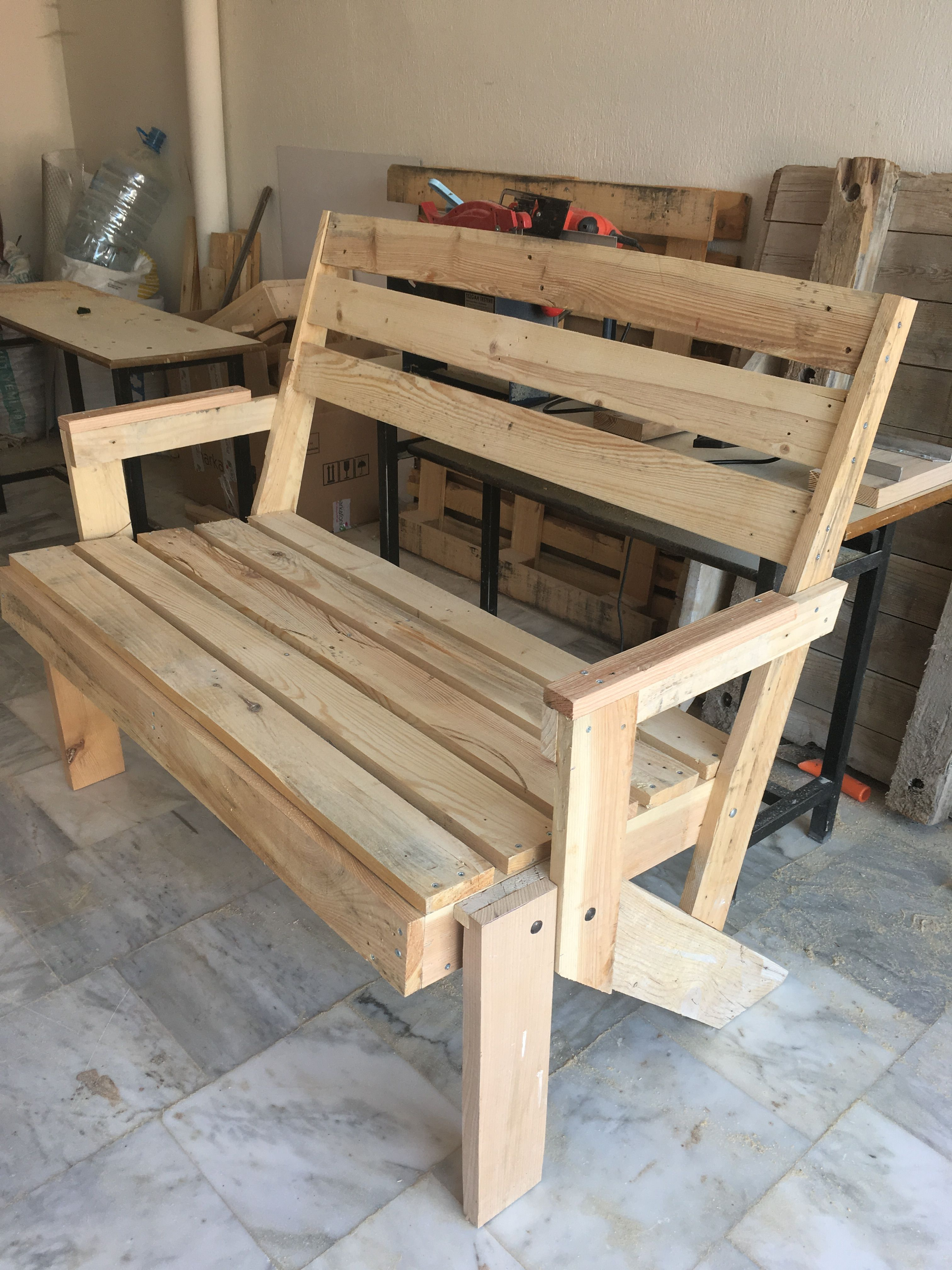 Pin by TC Bostn on Palet | Pinterest | Pallets, Picnic table bench ...