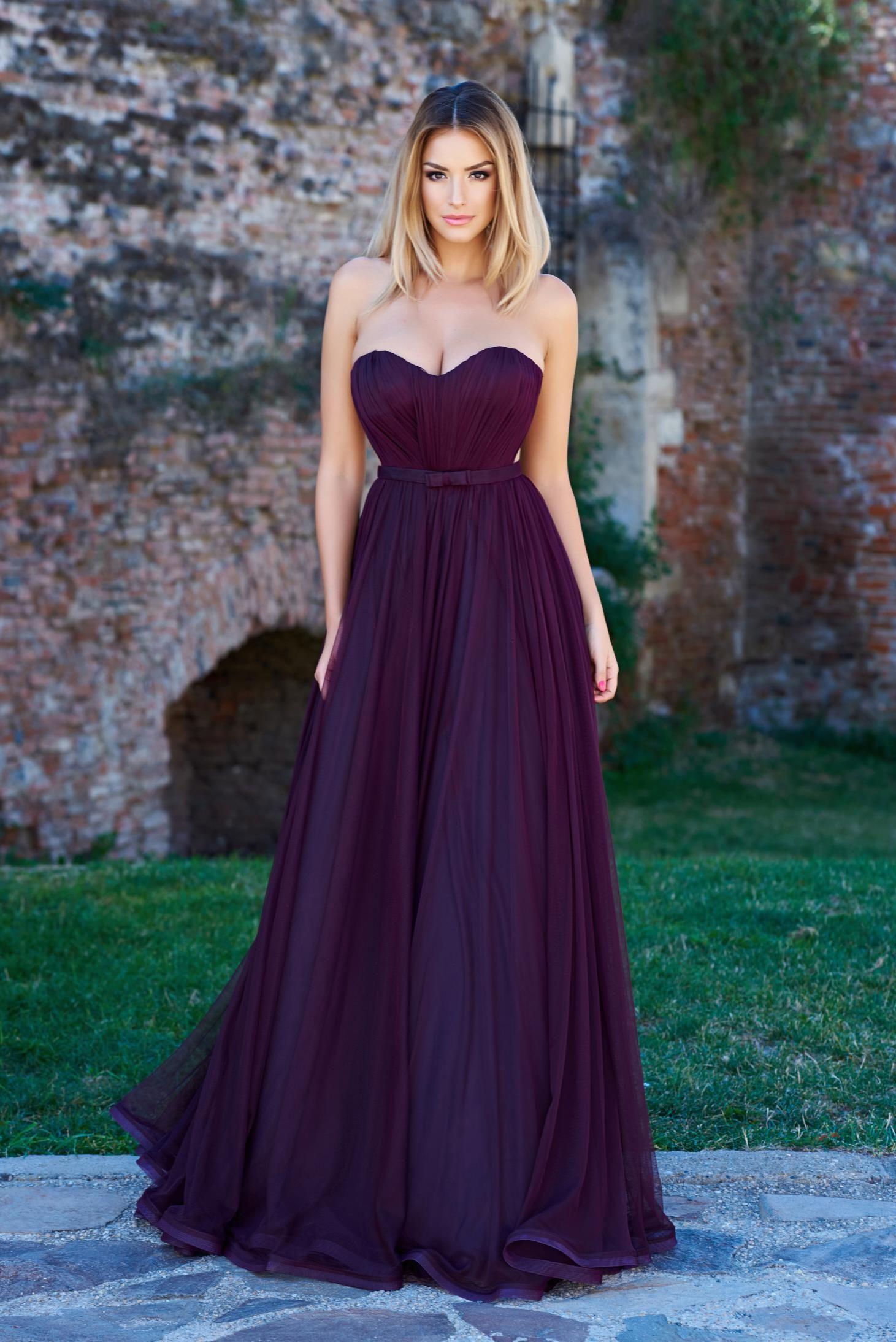 199346f44 Rochie Ana Radu Legendary Look Purple. Rochie lunga
