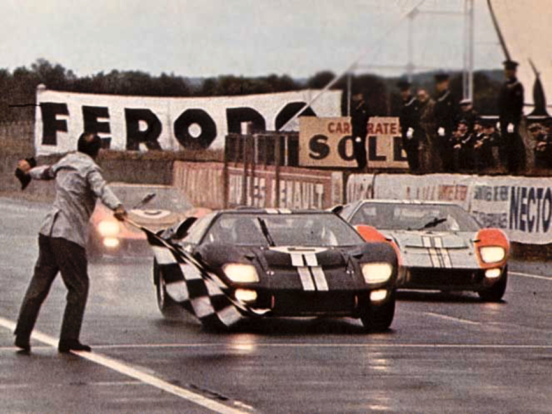 Ford Wins Le Mans Again Ford Gt40 Le Mans Ford Racing
