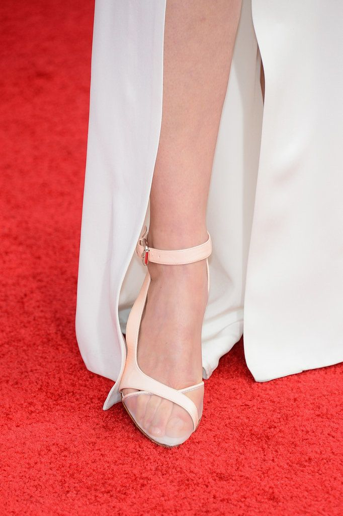 The Red Carpet Glamour That's Happening Below the Ankles: What's a red carpet gown without the glamorous heels to go with it?