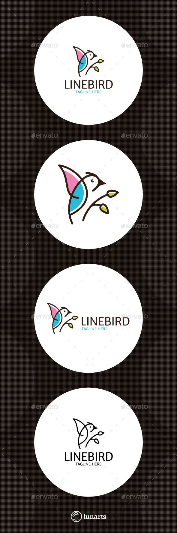Bird Logo Template Vector EPS, AI Illustrator