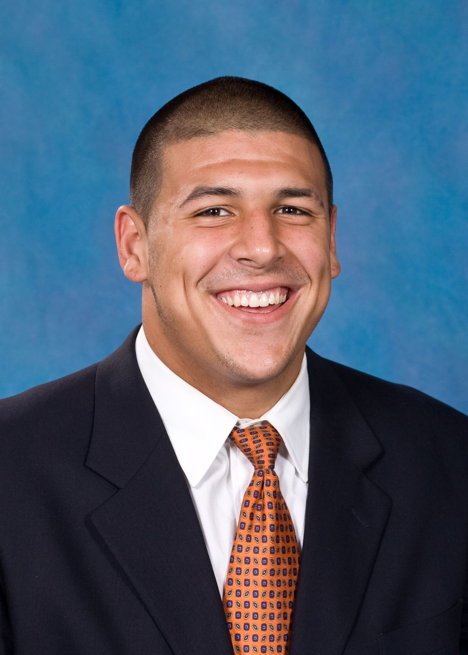 Aaron Hernandez draft scouting photo. A great pick for