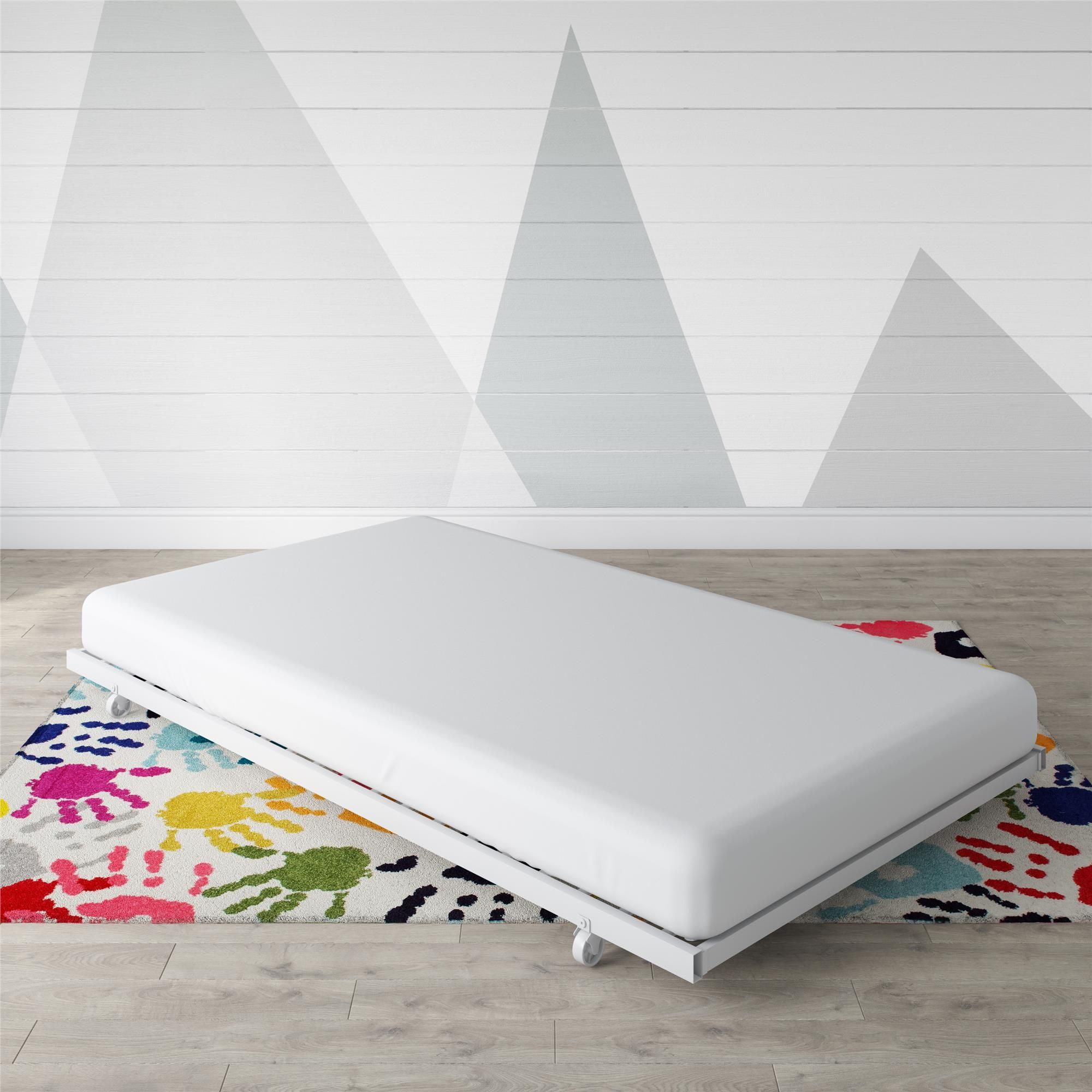 Dhp universal metal trundle for daybed, multiple colors