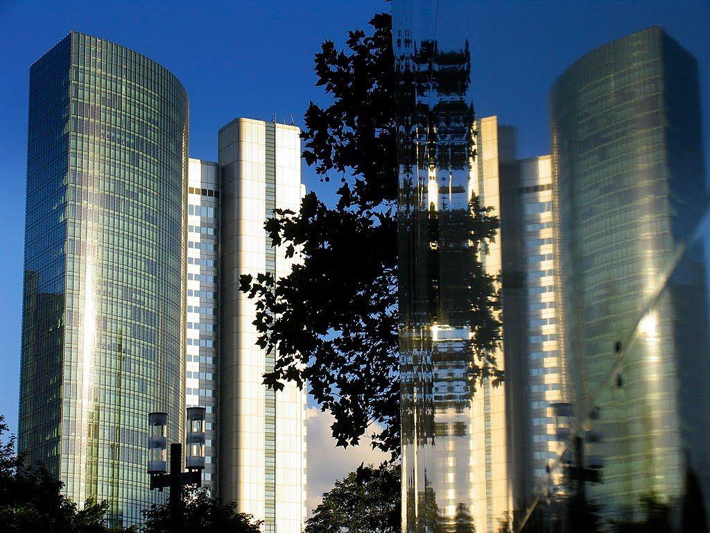 Hochhäuser in Frankfurt am Main