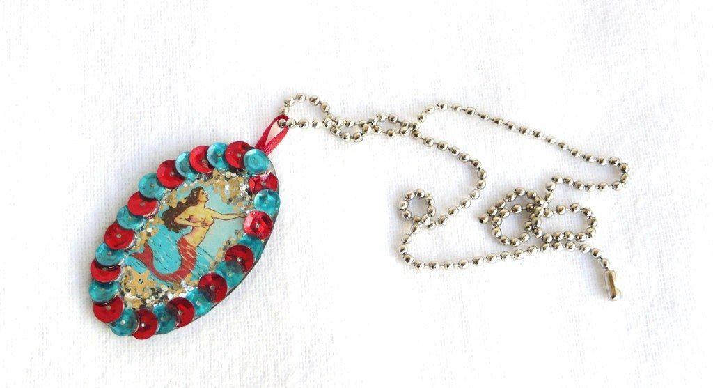 la sirena lotería necklace
