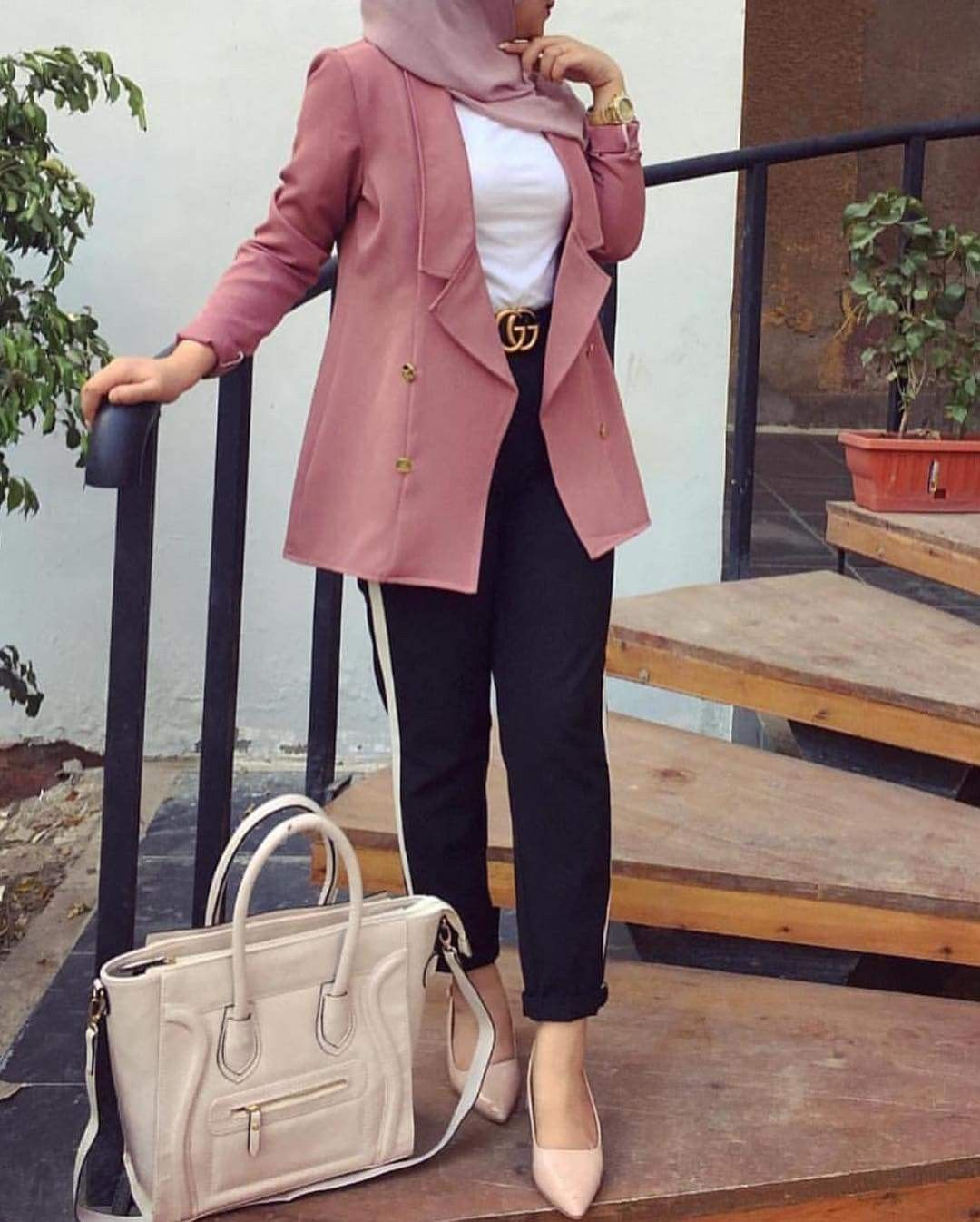 Pin By Noreen On Outfits Hijab Fashion Hijab Outfit