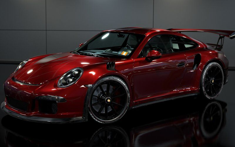 Porsche Gt3 Red Shining Car Sports Porsche Gt3 Porsche Carrera Car