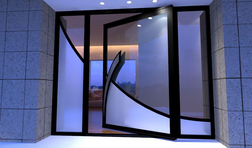 Gallery front door with glass door glass design glass