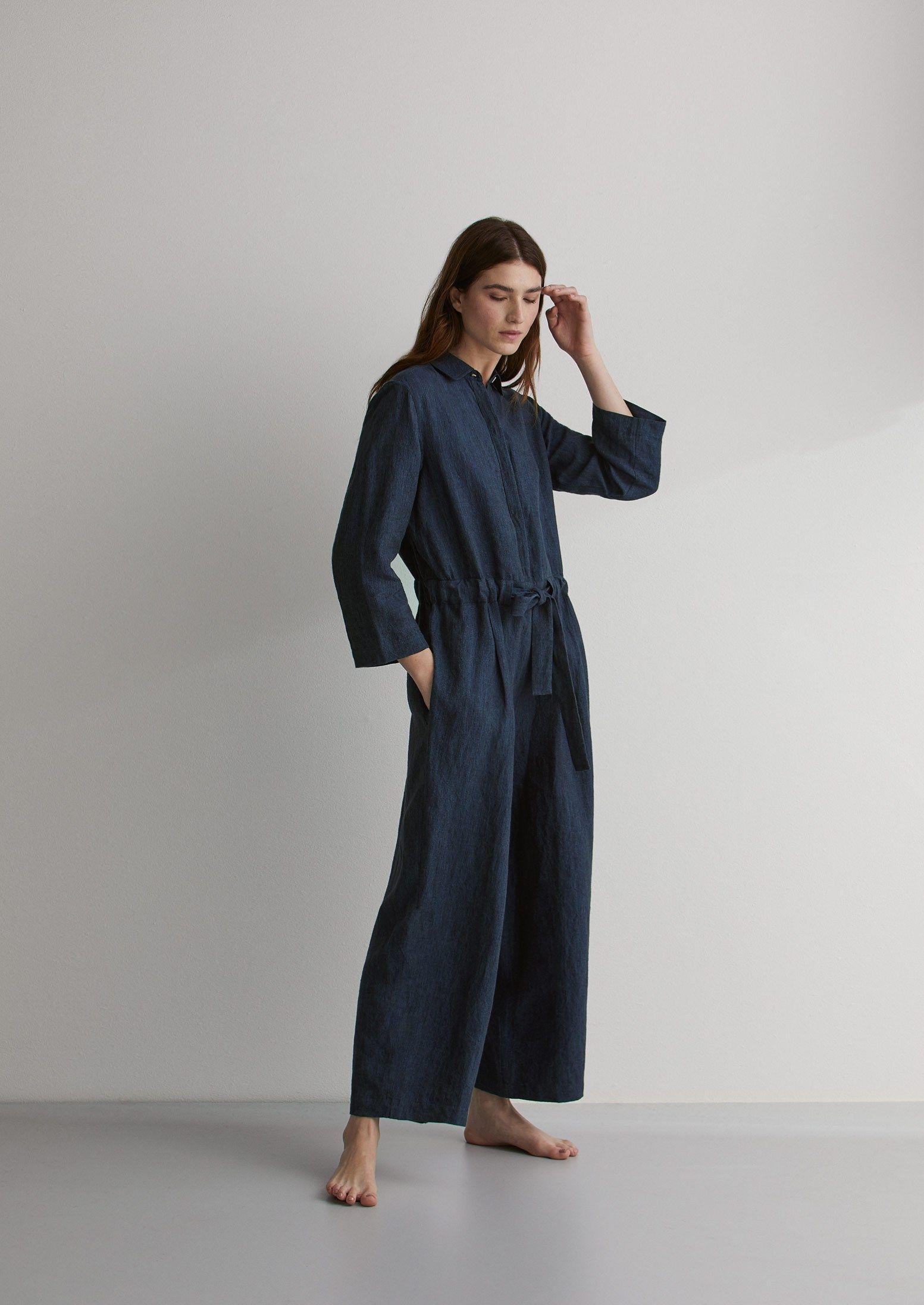 c874518b82d Delave Linen Jumpsuit