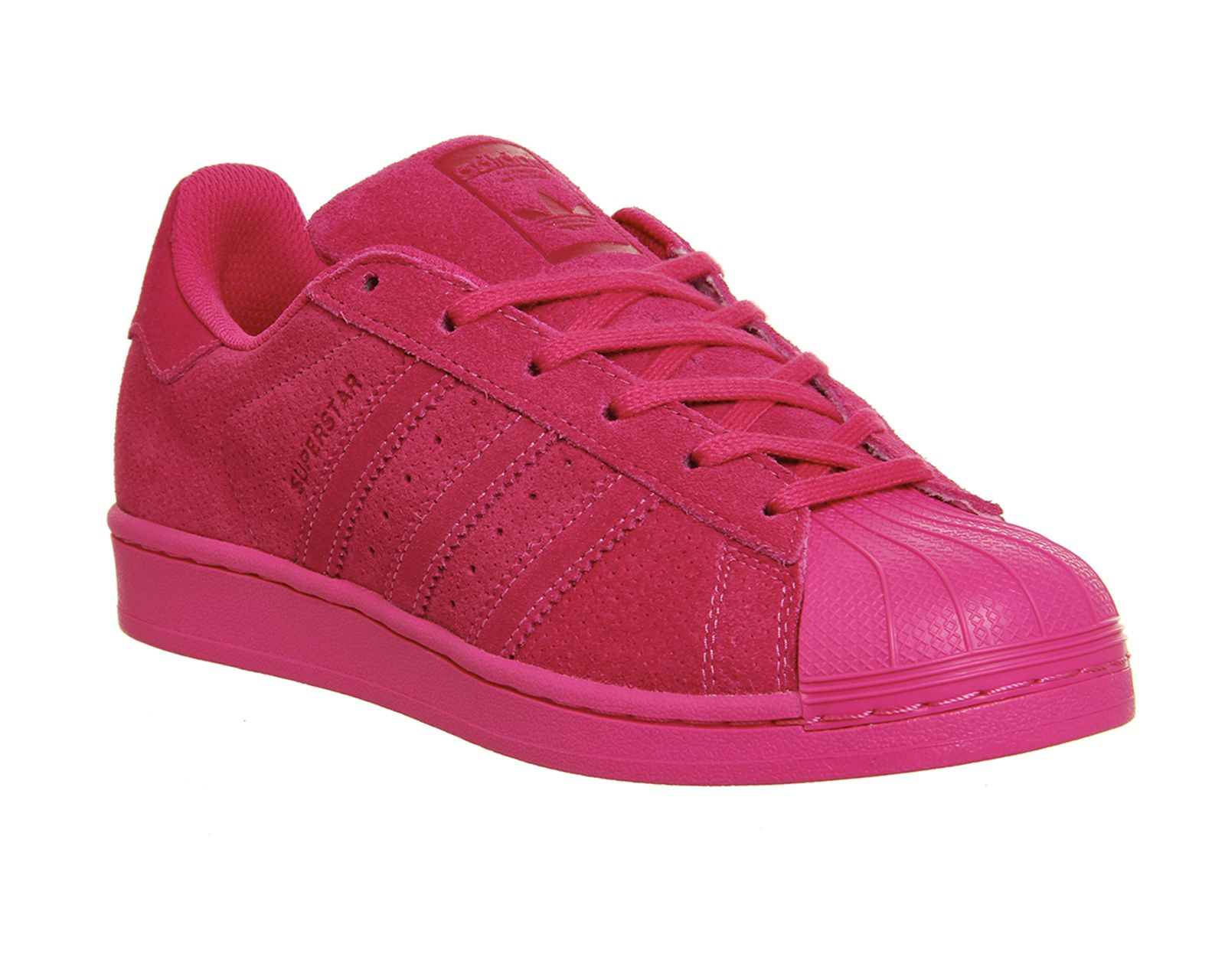 0d3ec1583ee7 Buy Eqt Pink Mono Adidas Superstar 1 from OFFICE.co.uk. gorgeous hot pink  versions of the shell tops - order from Office in the UK