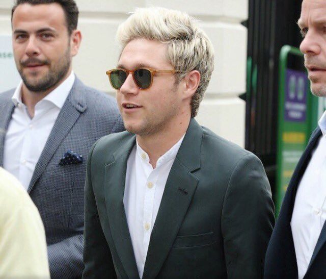 Niall is at Wimbledon again with Basil and Ben