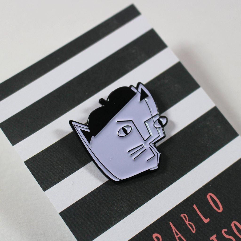 Pablo Picatso Enamel Pin In