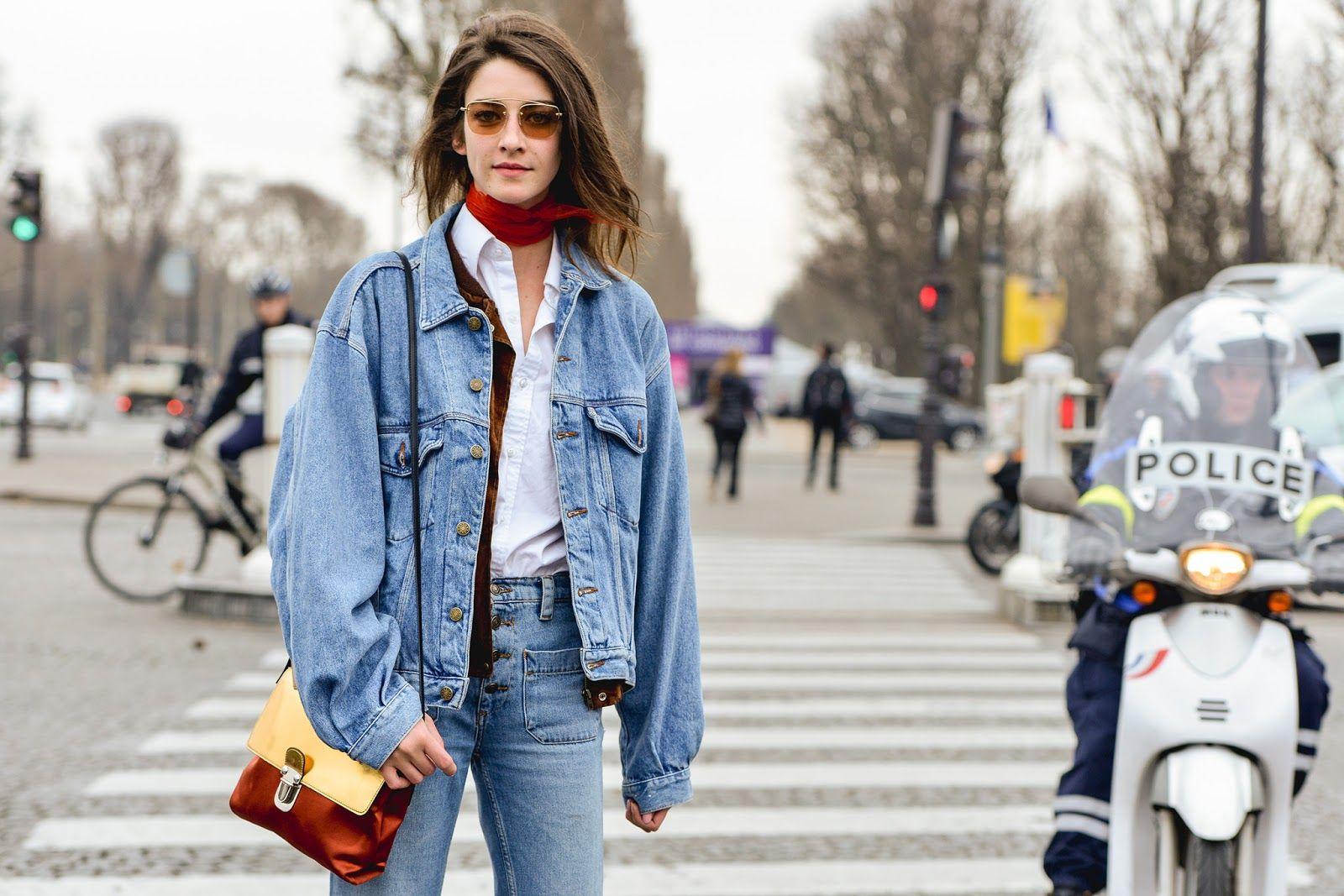 Street Style | D E N I M | C R E A T I V E | Pinterest | Neck ...