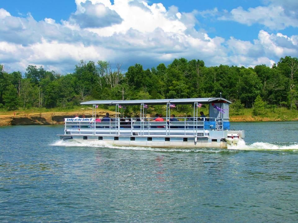 30 Person Lady Of The Lake Boat Tour Rough River Dam State Resort Park