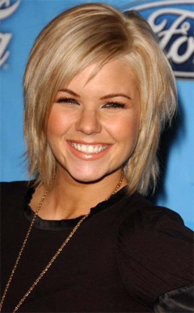 Medium Hairstyles For Fine Hair Prepossessing Best Hairstyle For Round Face Straight Hair  Fine Hair Hairstyles