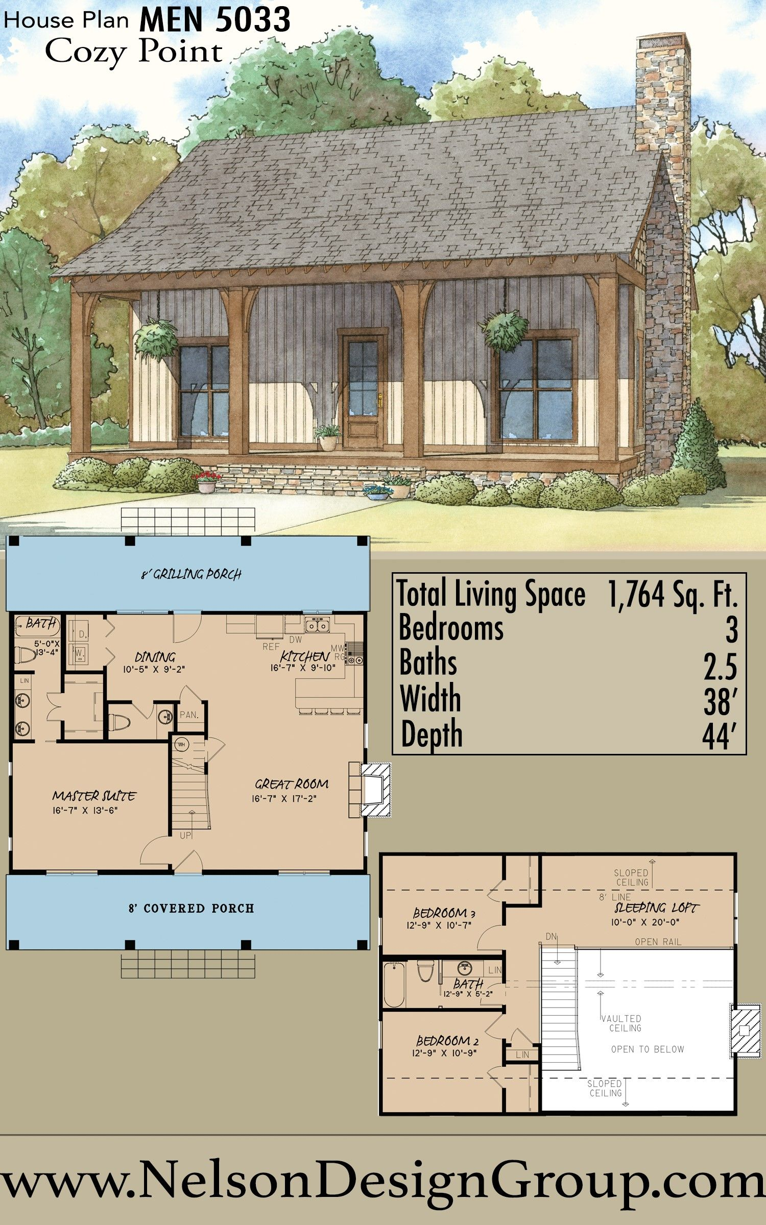 Houseplan Homedesign Homesweethome Frontporch Charming Craftsman House Plans House Plans Cozy Cabin
