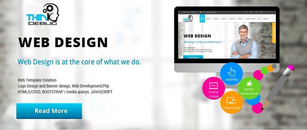 Thinkdebug provide complete web design solutions