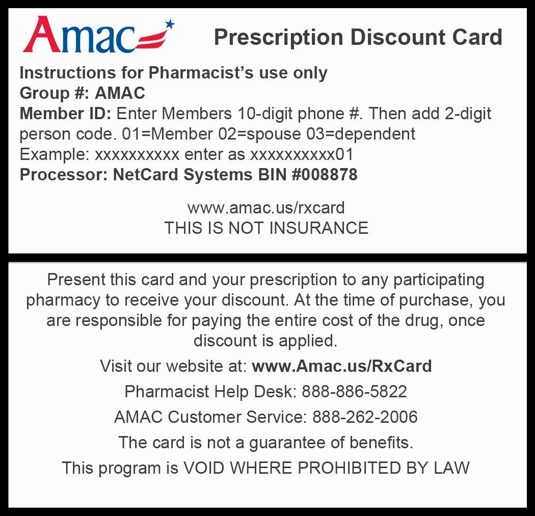 Pin On Insurance Card Template