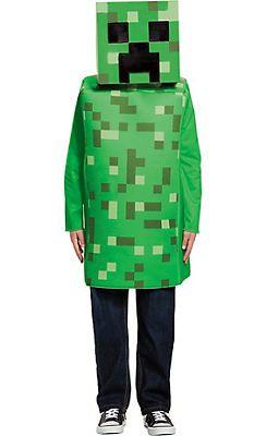 Minecraft Armor Classic Mojang Video Game Fancy Dress Halloween Child Costume