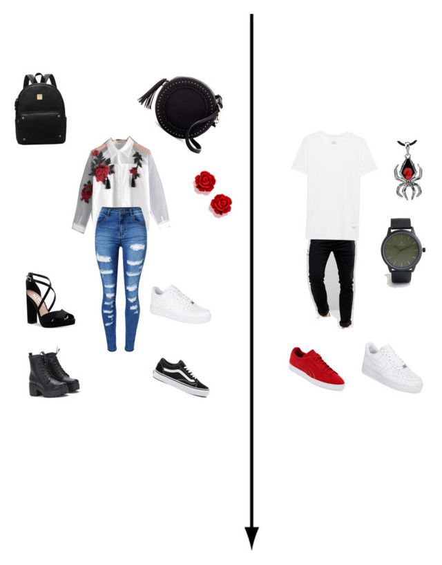 8d7954e9b9 Cute matching couple outfits by yeliahw on Polyvore featuring polyvore