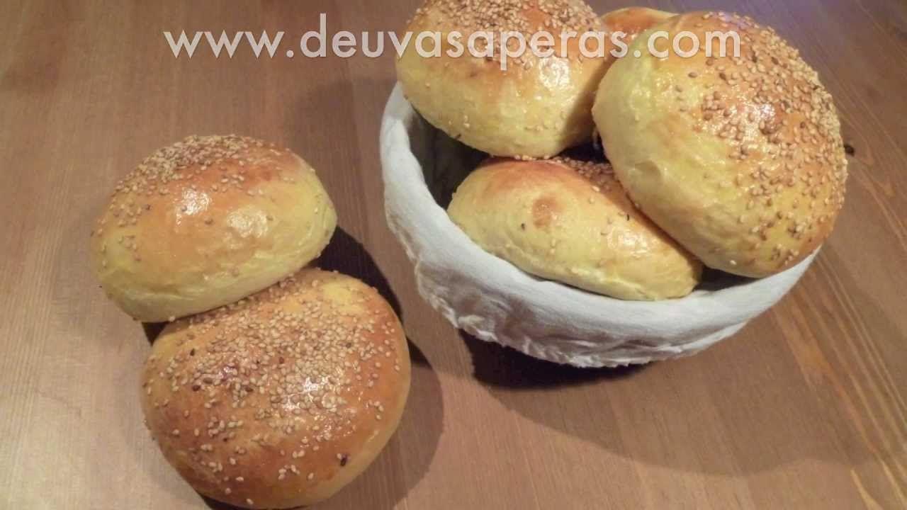 Como Hacer Hamburguesas  Caseras - Masa de Pan de Hamburguesa  - Parte 1