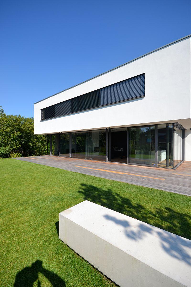 B nck architektur langenfeld 2016 modern villas for Haus bauen moderne architektur