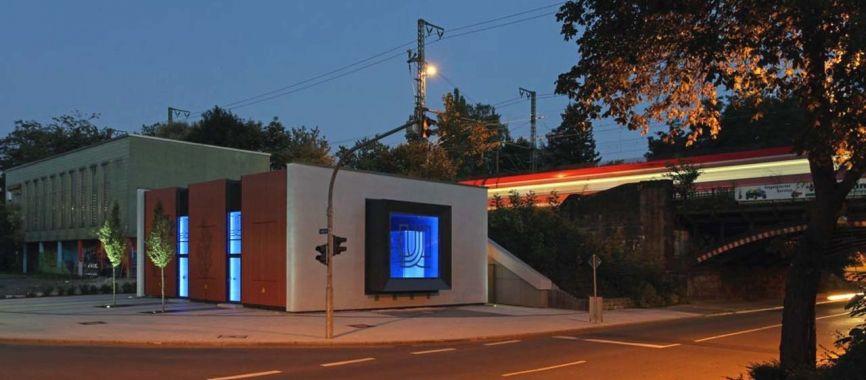 Ansicht Nordwest Nacht / Architekturbüro Bräckelmann