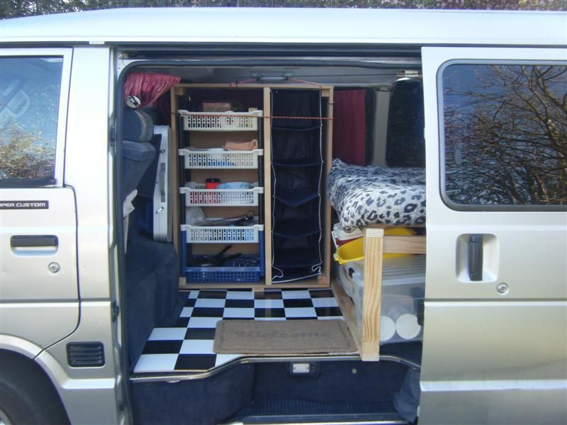 Nz Diy Camper Van Conversion Danielstuart Ie Camper Van