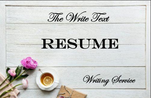 Custom resume write my