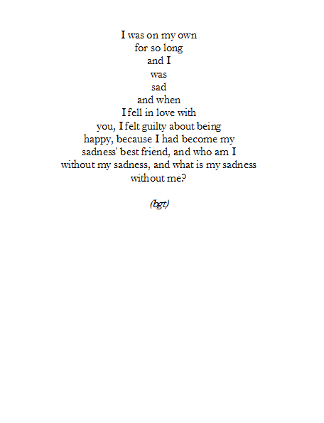 Gallery for - depressed love poems tumblr | Sad ... Poems About Sadness Tumblr