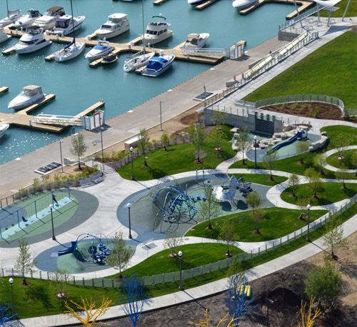 Winning waterfront design planning aecom a global for Landscape design west auckland