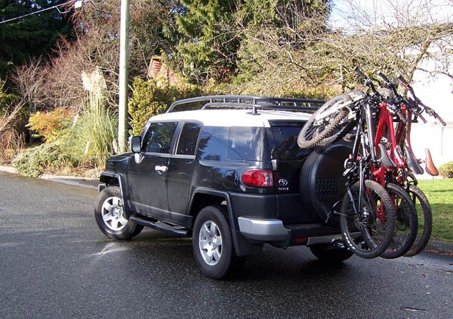 North Shore Racks Fj Cruiser Fj Cruiser Mods Cruiser Bike
