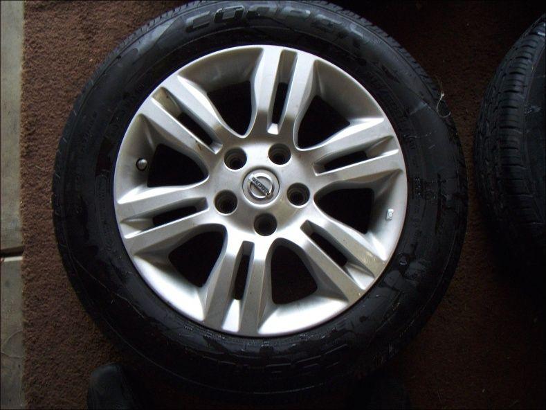 1999 Nissan Altima Tire Size