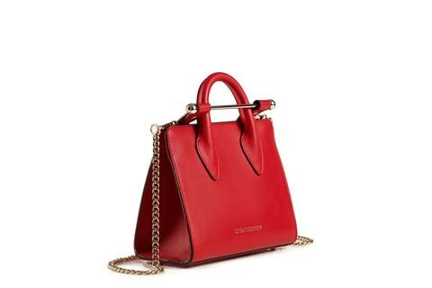 36b25f84e88c Bag · The Strathberry Nano Tote - Ruby