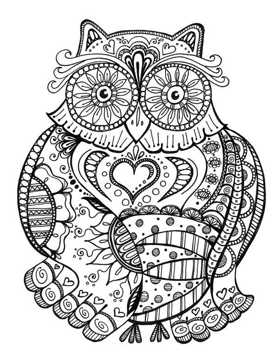 kaleidoscope eyes coloring book by alliepaige333 on etsy