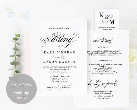 Wedding Invitation Back Cobypic Com