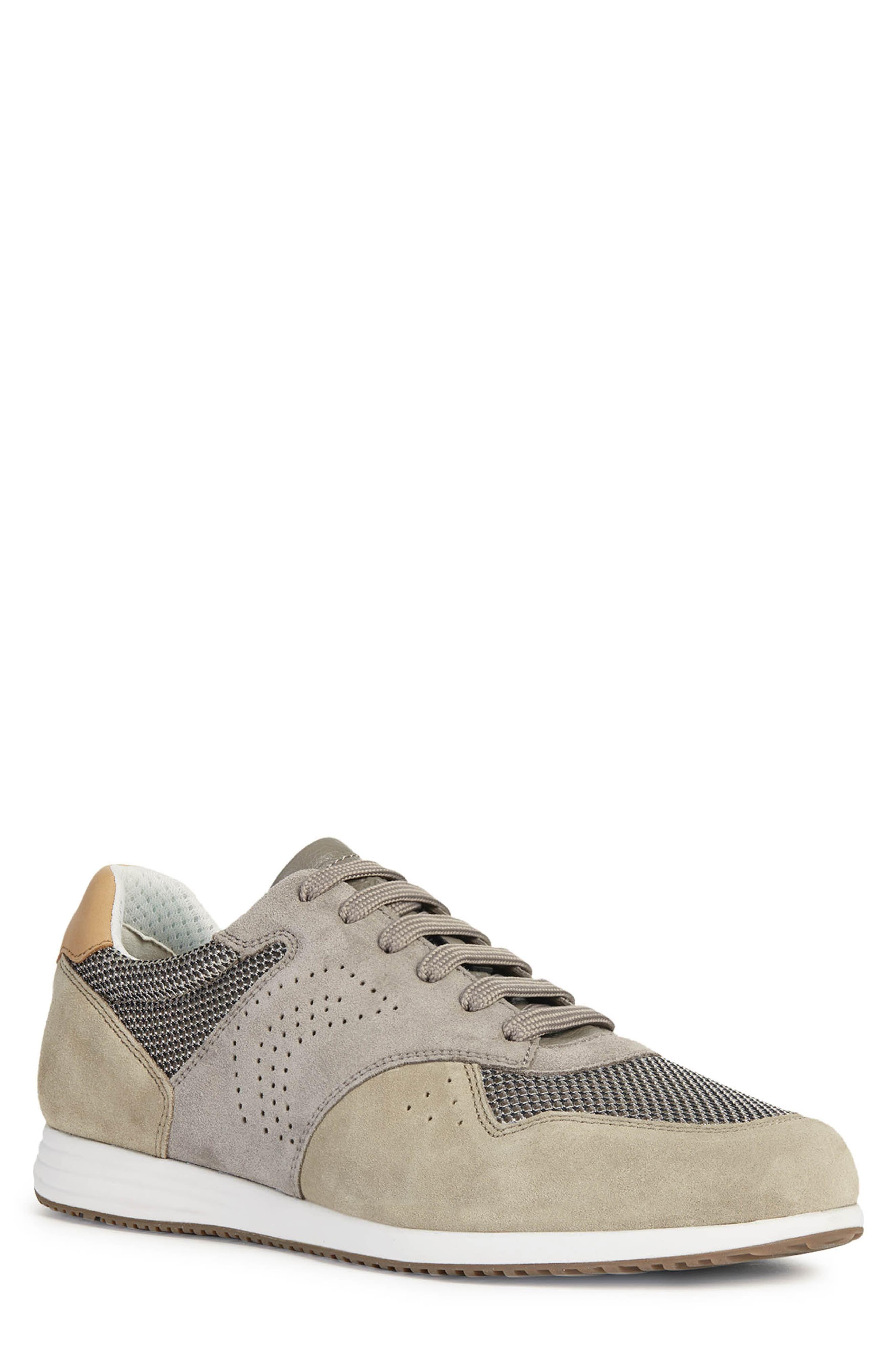 Men's Geox Arsien 1 Sneaker, Size 9US 42EU Grey in 2019