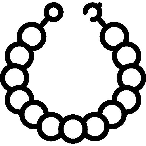 Pearl Necklace Free Vector Icons Designed By Smashicons En 2021 Iconos Icono Gratis Collar De Perlas