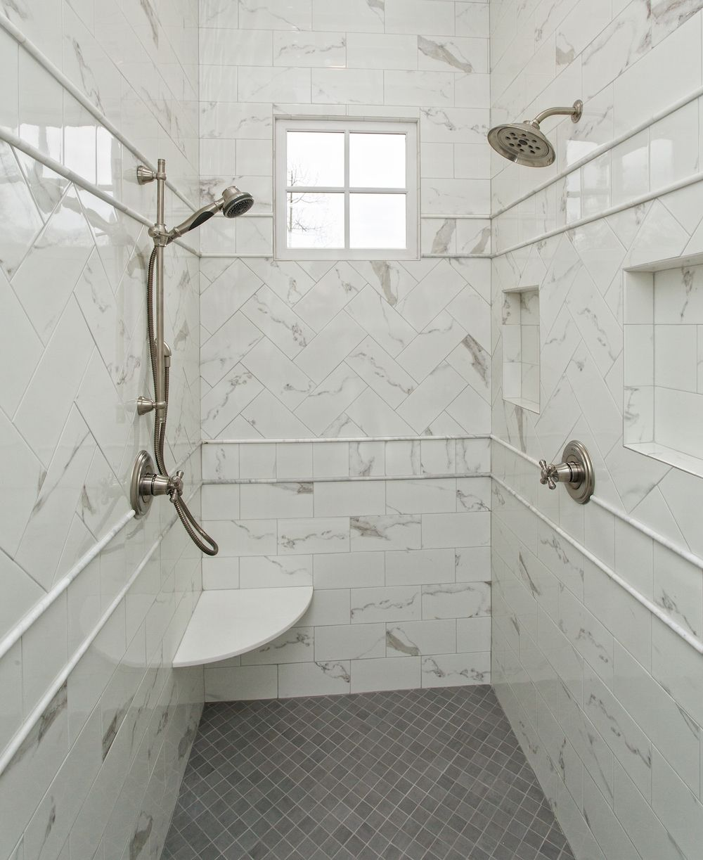 Bathroom Fixtures Greenville Sc gorgeous walk in shower in the master bathroom of this custom