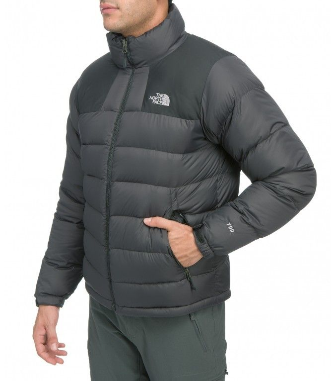 The North Face Men s Massif Jacket - Black With 700 fill goose down  insulation a3b849ee7
