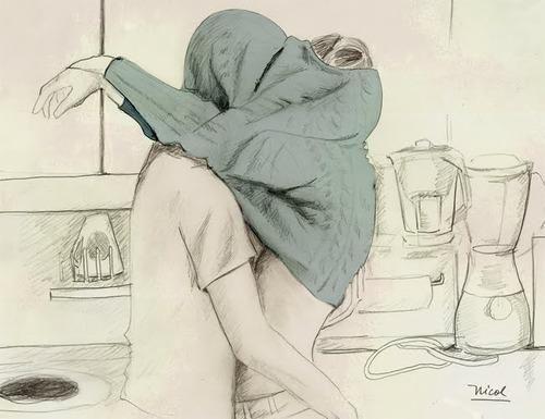 drawing Love kiss